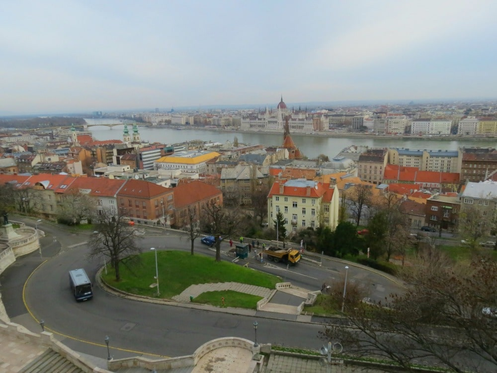 Baby Boomer Travel   Hungary   View of the Danube from Buda - Budapest