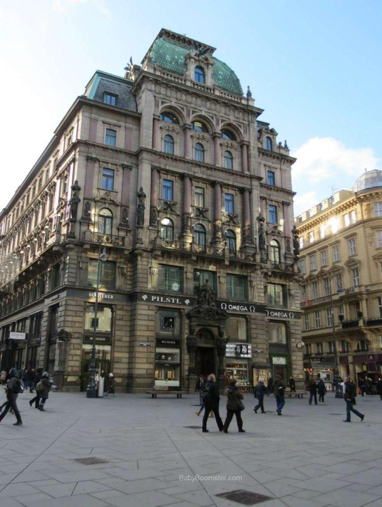 Baby Boomer Travel   Austria   Vienna - building