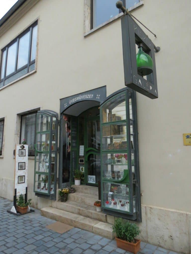 Baby Boomer Travel   Hungary   Glass Art Gallery in Buda