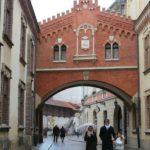 Baby Boomer Travel   Krakow Poland   Bridge - Pijarski Street