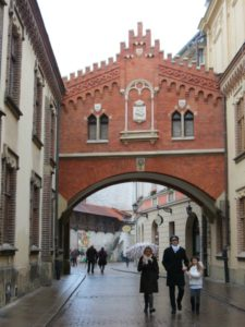 Baby Boomer Travel | Krakow Poland | Bridge - Pijarski Street