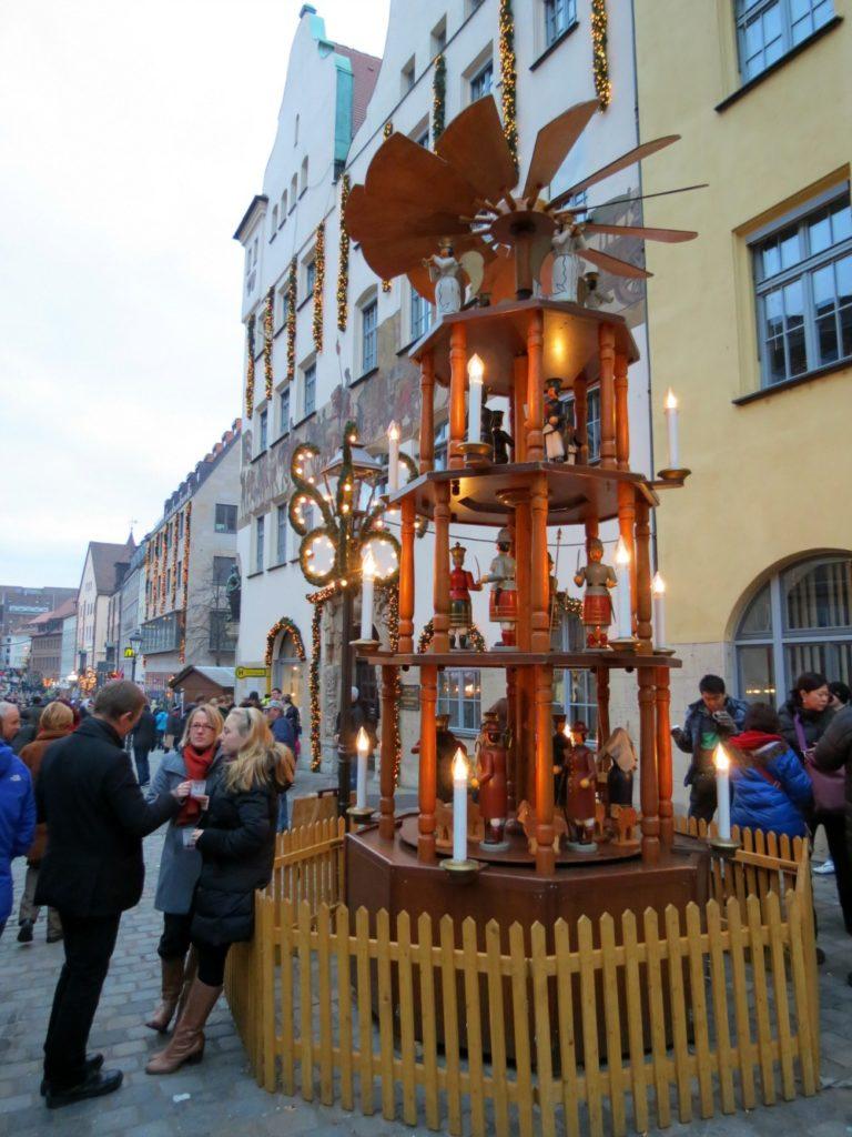 A nutcracker display in Nürnberg during the Christmas Market