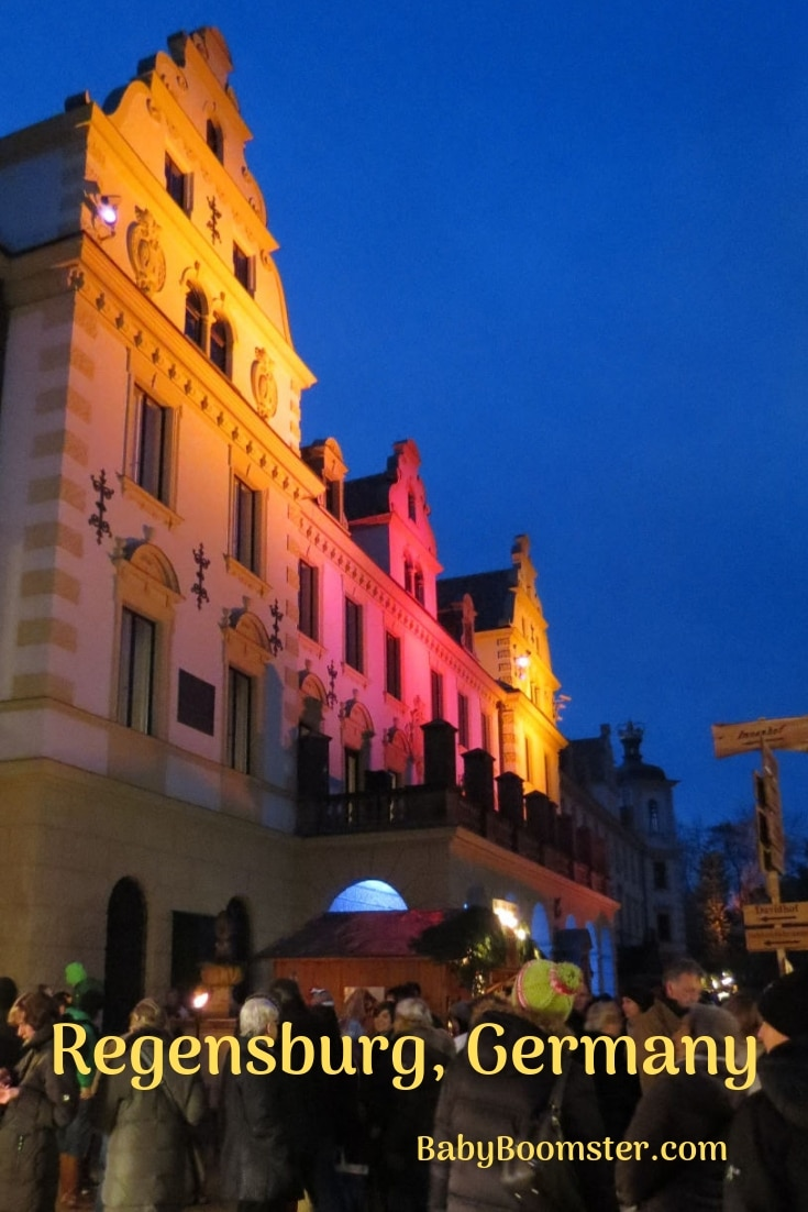 The Thurns and Taxis Christmas Market in Regensburg, Germany is romantic and whimsical. You don't want to miss it.