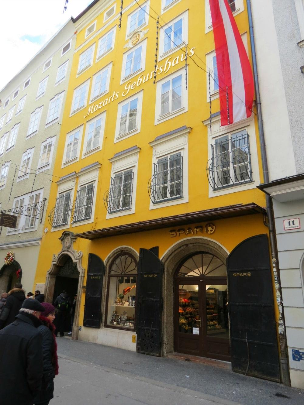 Baby Boomer Travel   Austria   Salzburg - Mozart House