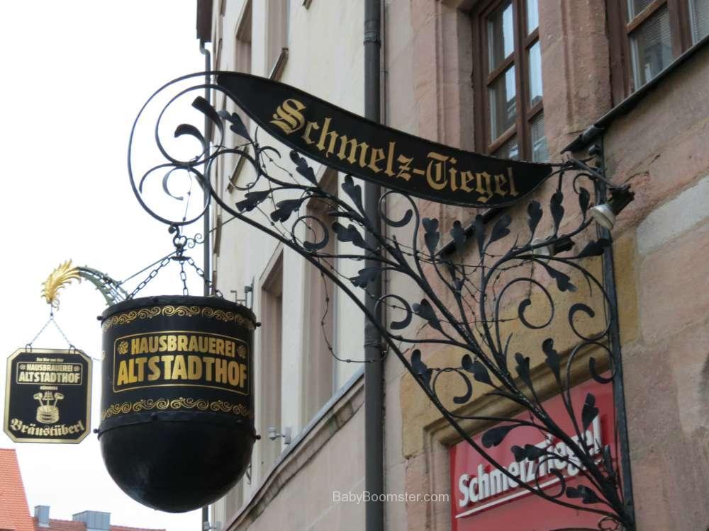 Schmelz-Tiegal a brewery in Nürnberg, Germany