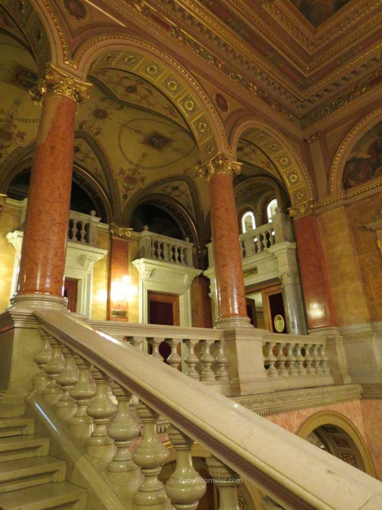 Baby Boomer Travel   Hungary   Hungarian State Opera House - Budapest