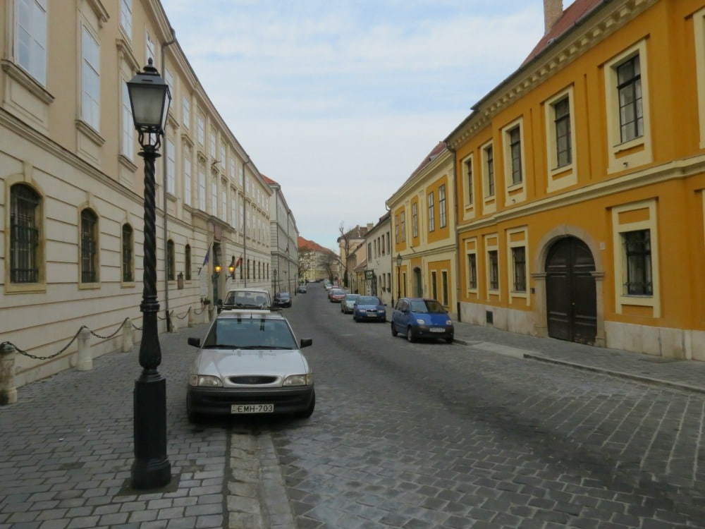 Boomer Travel   Budapest   Street in Old Town Buda