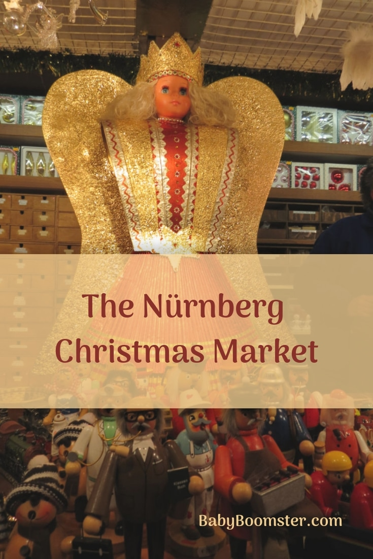 The Angel at the Nürnberg Christmas Market in Germany