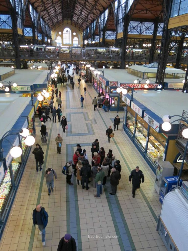 Baby Boomer Travel   Hungary   Great Market from Upper floor - Budapest