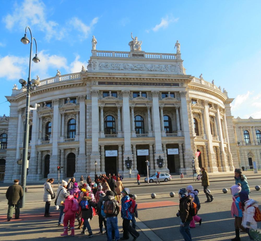 Baby Boomer Travel   Austria   Vienna - Burgtheater