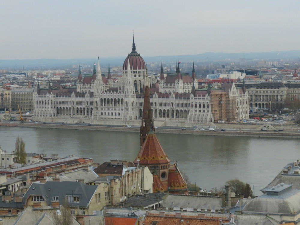 Baby Boomer Travel   Hungary   View of Parliment from Buda