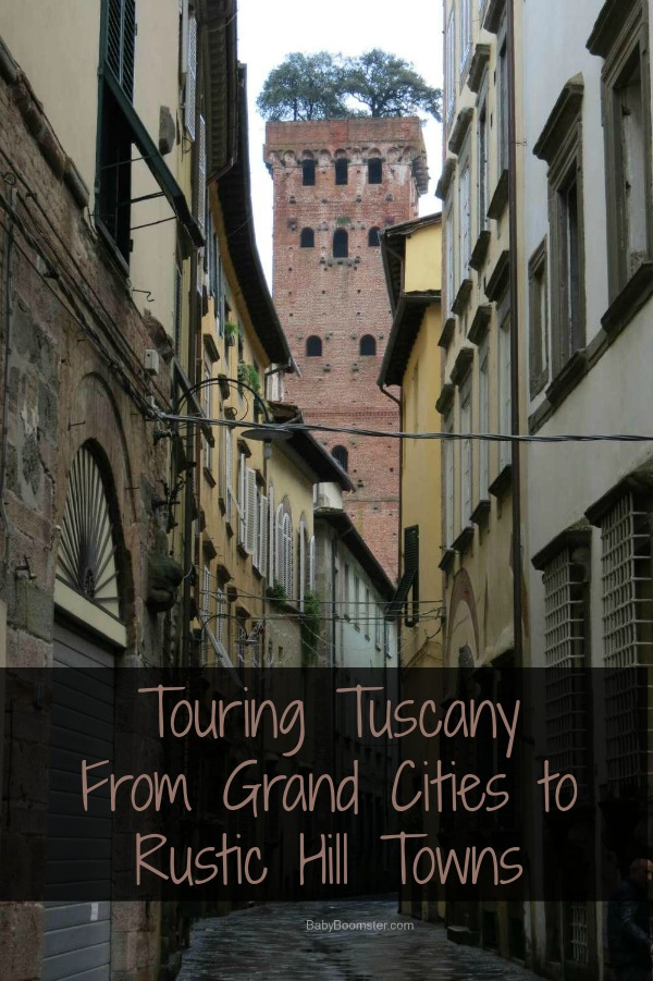 Touring Tuscany in Italy