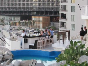 Bar at Sunset MonaLisa