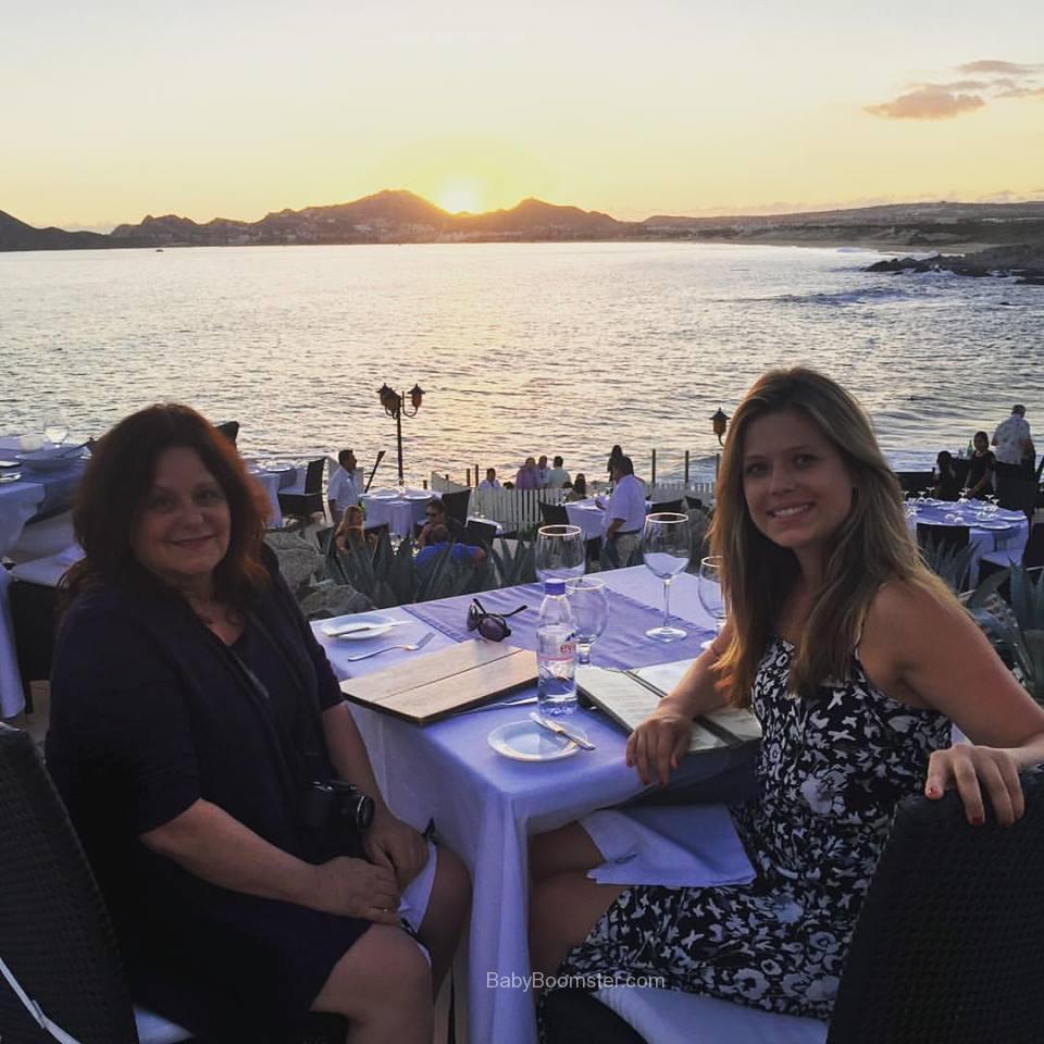Rebecca and Kazia at Sunset Da Mona Lisa