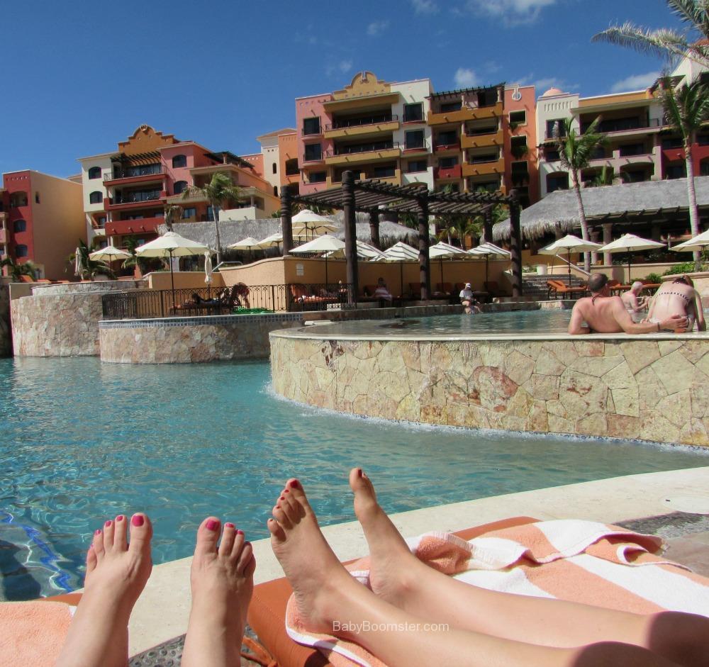 Relaxing at Playa Grande