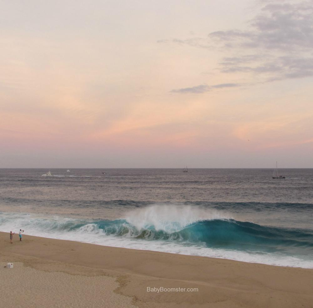 View from our Balcony at Playa Grande in Los Cabos