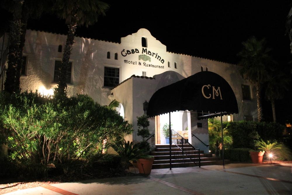 Casa Marina entrance