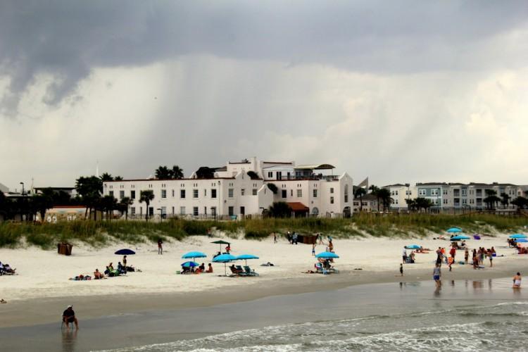 Casa Marina from Beach