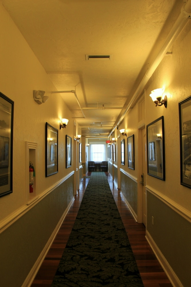 Casa Marina hallway