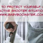 Baby Boomer Women | Self Defense | Active Shooter
