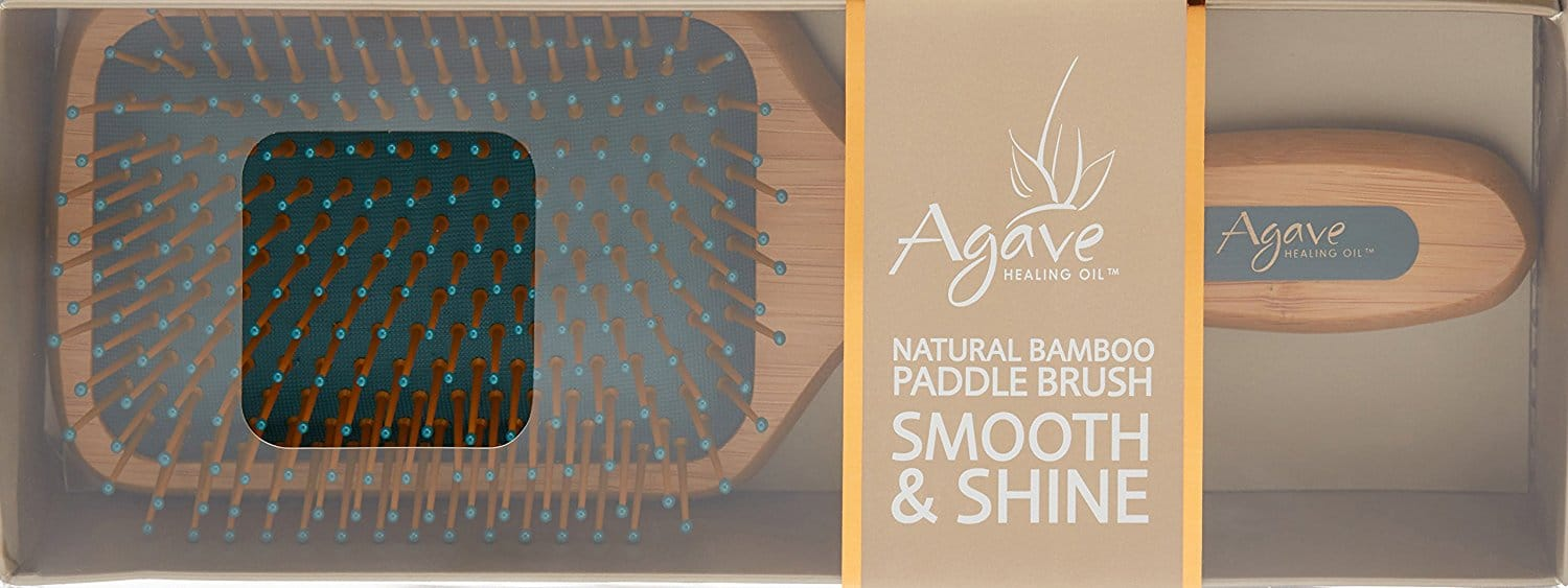 Women over 50 | Agave Healing Oil Smooth and Shine Paddle Brush