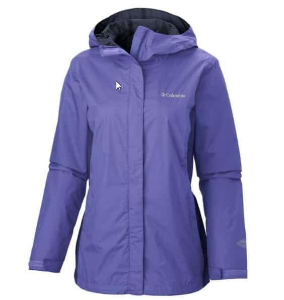 Baby Boomer Travel | Trave; Gear | Columbia Rain Coat Plus-size
