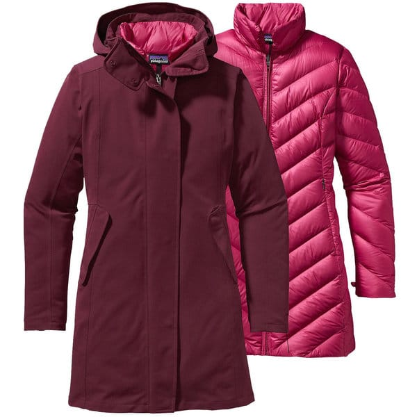 Fashion over 50 | Women's Parka | Patagonia Tres 3 in 1 Parka at Paragon Sports affliliate