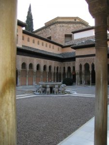Baby Boomer Travel | Granada, Spain | Alhambra Court of Lions