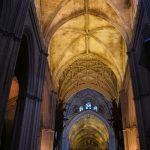 Baby Boomer Travel   Seville, Spain   Seville Cathedral Ceiling