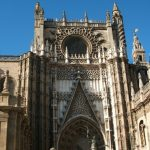 Baby Boomer Travel   Seville, Spain   Seville Cathedral entrance - top