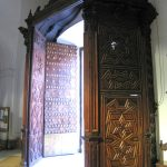 Baby Boomer Travel   Seville, Spain   Iglesia De Santa Cruz old Synagogue door