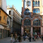 Baby Boomer Travel   Seville, Spain   Cafe and Street