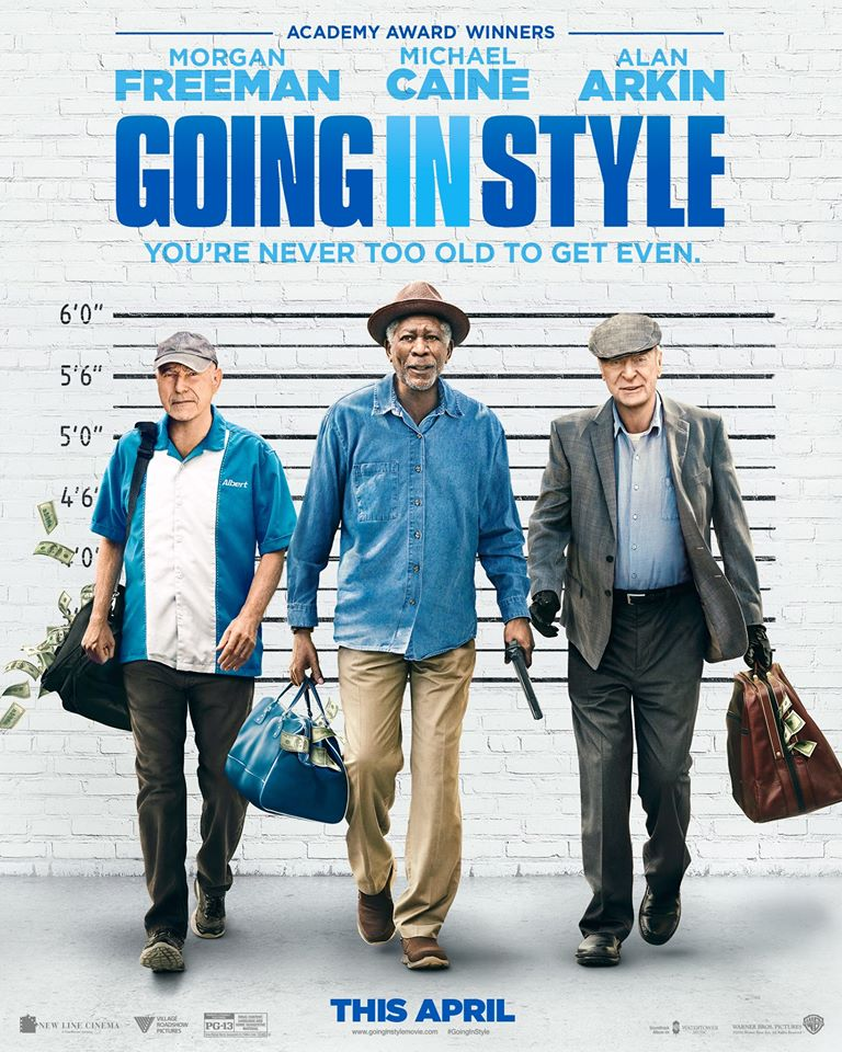 Over 50 | Movie | Going in Style - Opens April 7, 2017 Warner Bros Pictures
