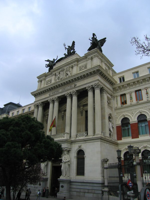 Baby Boomer Travel | Spain | Madrid - Agriculture Building