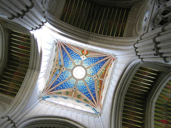 Baby Boomer Travel | Spain | Madrid - Royal Palace Cathedral ceiling