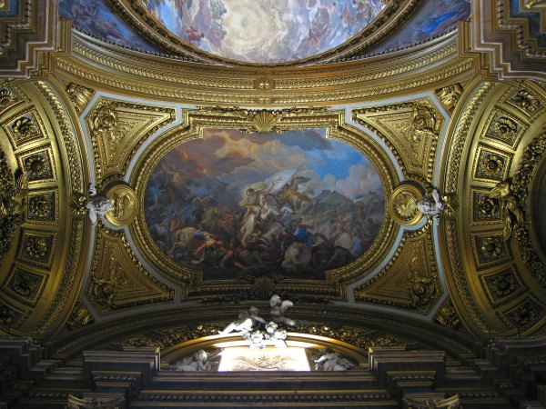 Baby Boomer Travel | Spain | Madrid - Royal Palace ceiling