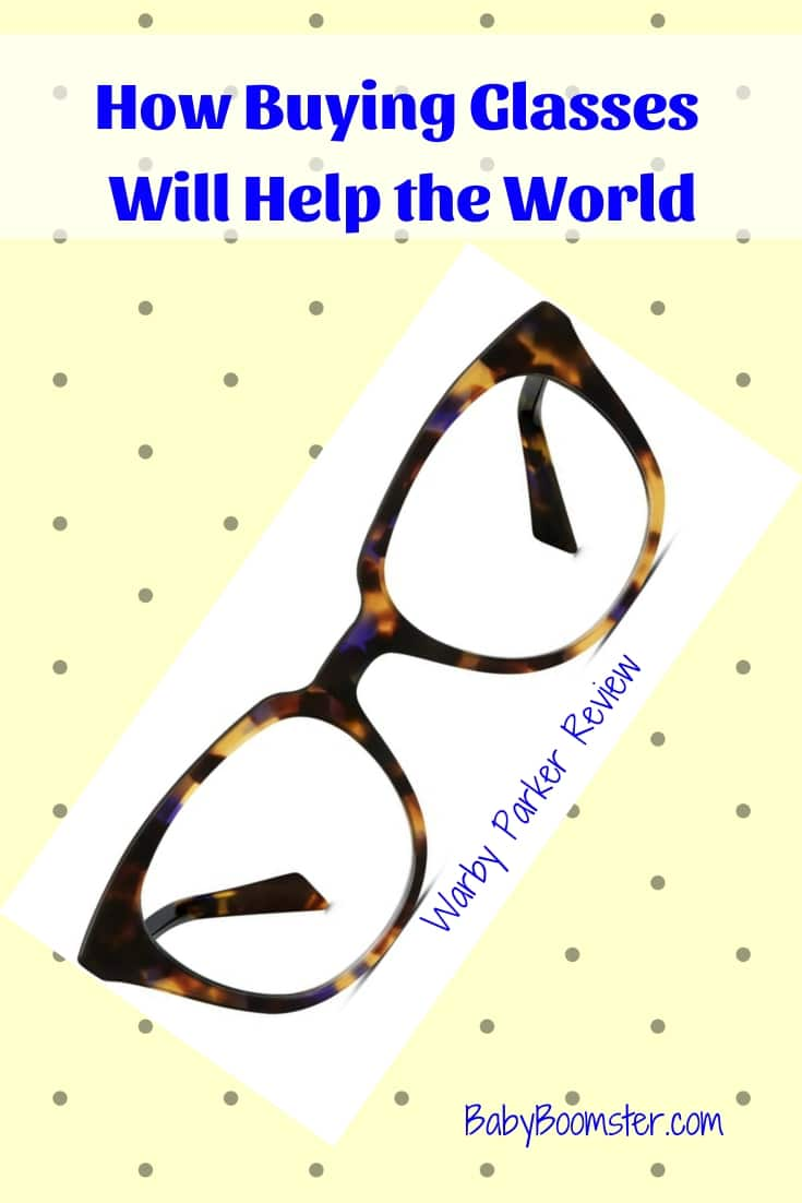 How buying glasses will help the world
