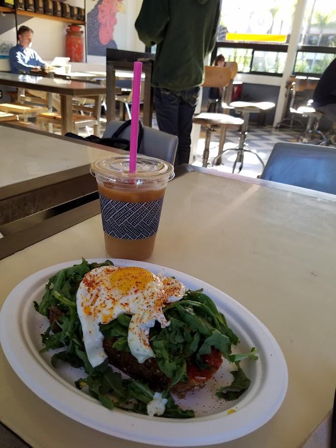 Coffee Commissary Avocado Toast