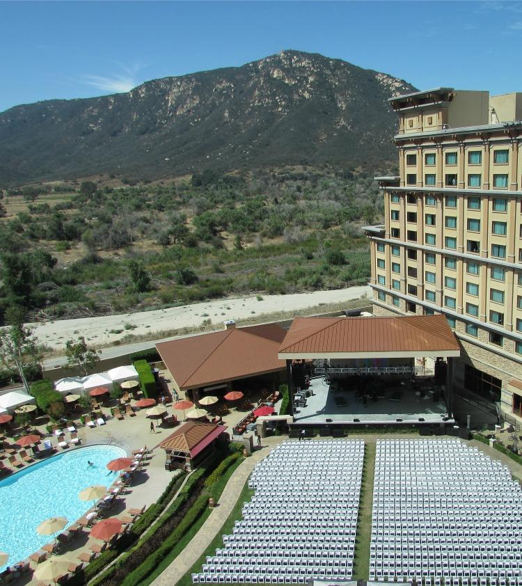 Baby Boomer Travel   California   Pala Casino View of Stage