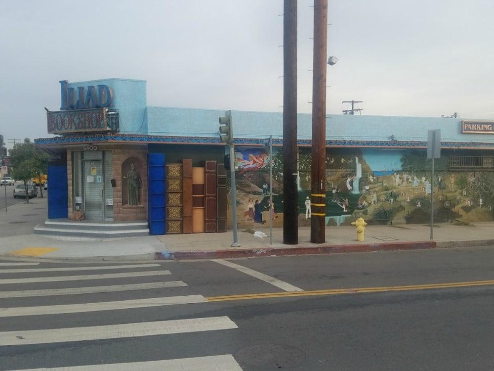 Boomer Travel   Street Art   Iliad Bookstore - North Hollywood