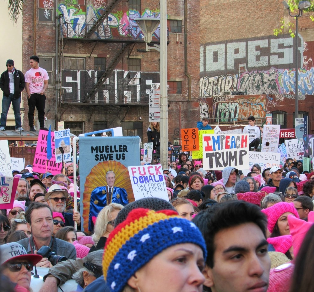 2018 Women's March Los Angeles   About More Than Just Women