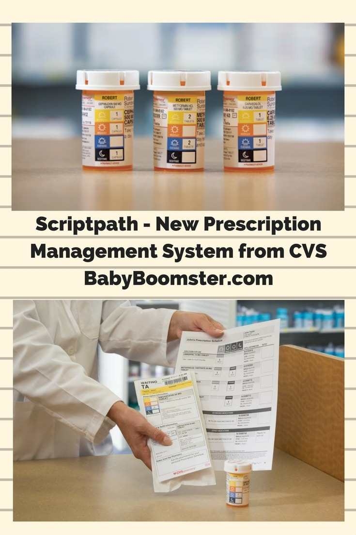 Baby Boomer Health | CVS Pharmacy | Scriptpath Prescription Management System - Sponsored