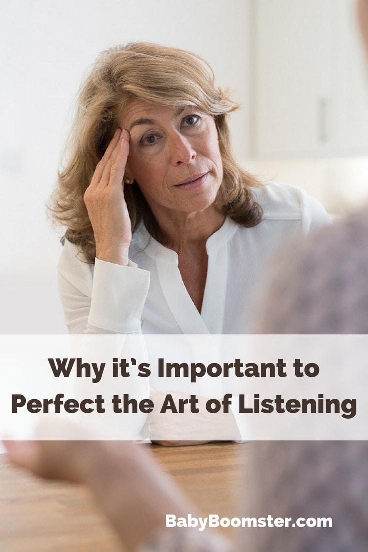 Baby Boomer Women | Self-Improvement | Listening