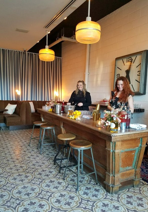 Women's History Month | Cocktails for Women | Los Angeles Bartender with their creations