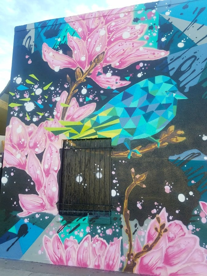 Baby Boomer Travel | Street Art | Burbank | Wall of Mindfullnest