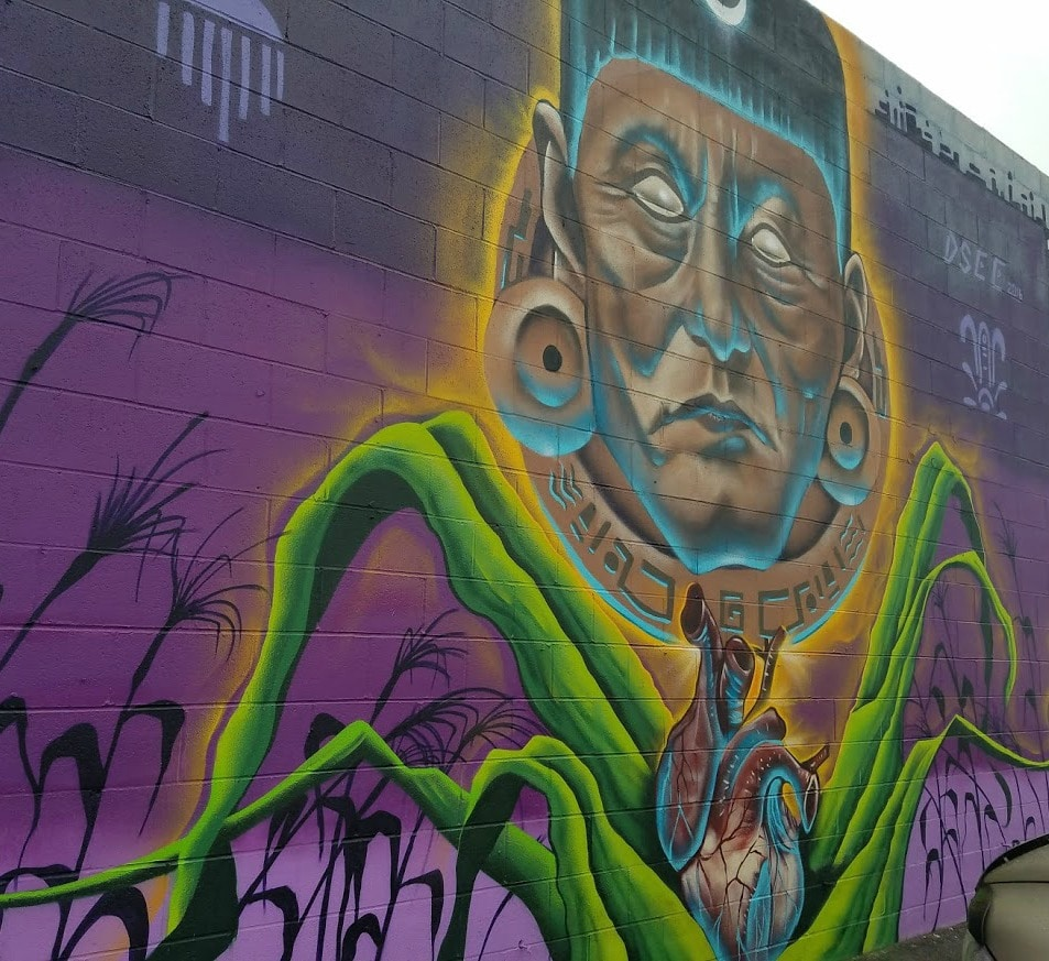 Baby Boomer Travel | Street Art | Canoga Park | Warrior