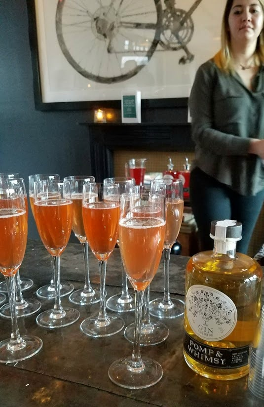 Women's History Month | Cocktails for Women | Welcome Champagne