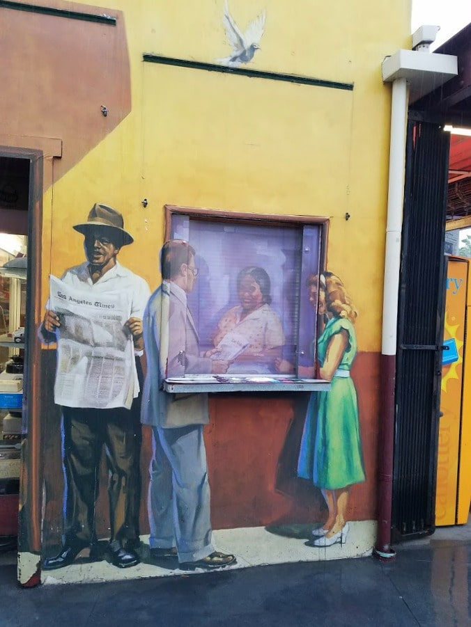 Baby Boomer Travel | Street Art | Original Farmers Market Los Angeles Wall Art