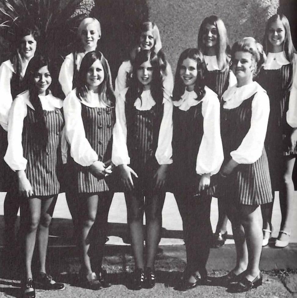 Baby Boomers | High School | High School Girl's League 1971