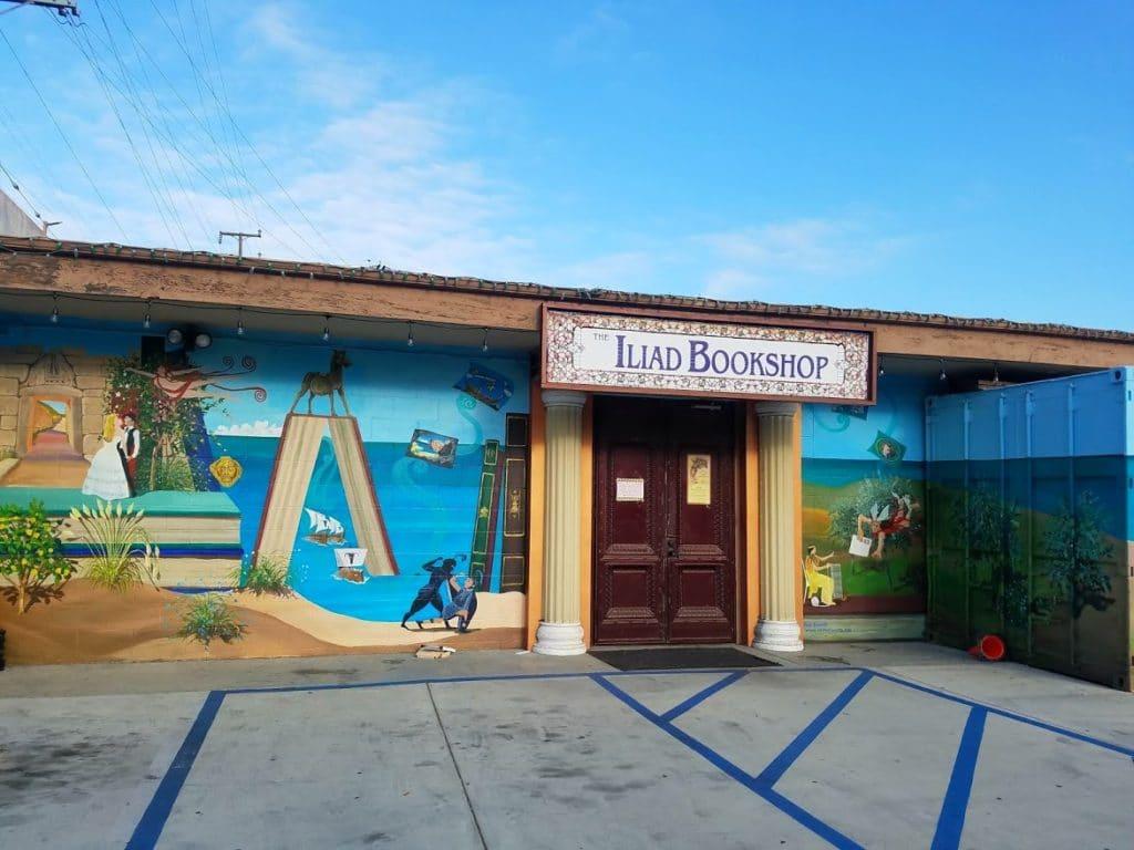 Baby Boomer Travel | Street Art | NOHO | Iliad Bookstore Parking Lot